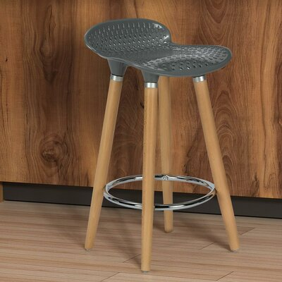 Scalise 25 Bar Stool Finish: Gray