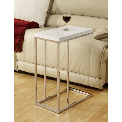 Myrtlewood End Table Finish: Glossy White