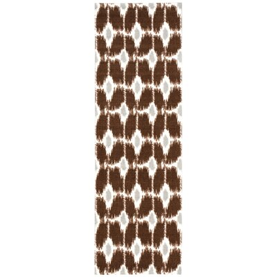 Harrison Brown Area Rug Rug Size: Runner 26 x 8
