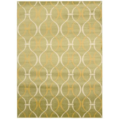 Severin Green Area Rug Rug Size: Runner 22 x 73