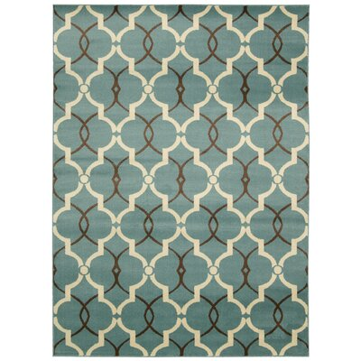 Severin Blue Area Rug Rug Size: Runner 22 x 73