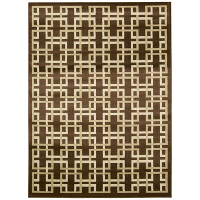 Severin Brown Area Rug Rug Size: 710 x 106