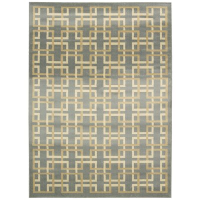 Severin Gray/Ivory Area Rug Rug Size: Rectangle 3'11