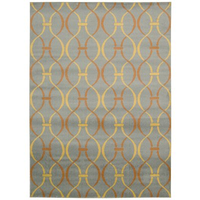 Severin Gray Area Rug Rug Size: Rectangle 3'11