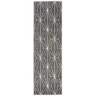 Severson Gray Area Rug Rug Size: Runner 22 x 73
