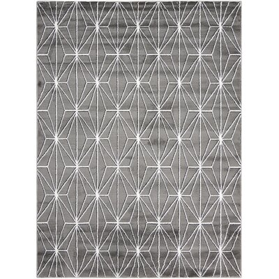Severson Gray Area Rug Rug Size: 710 x 106