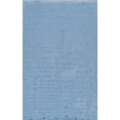 Shadwick Blue Area Rug Rug Size: Rectangle 76 x 96