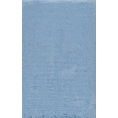 Shadwick Blue Area Rug Rug Size: 76 x 96