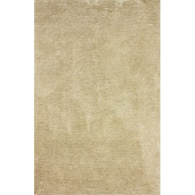 Shadwick Hand-Tufted Tan Area Rug Rug Size: Rectangle 76 x 96