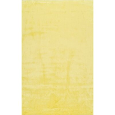 Shadwick Yellow Area Rug Rug Size: 76 x 96