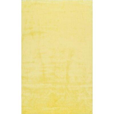Shadwick Yellow Area Rug Rug Size: 9 x 12