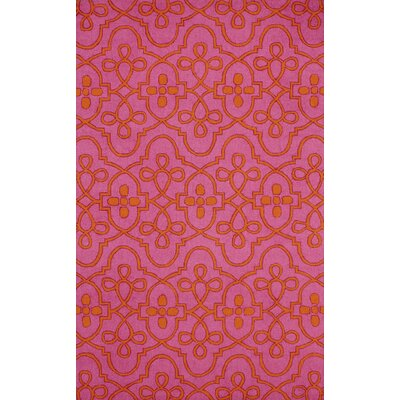 Shearer Fuchsia Oriental Area Rug Rug Size: Rectangle 5 x 8