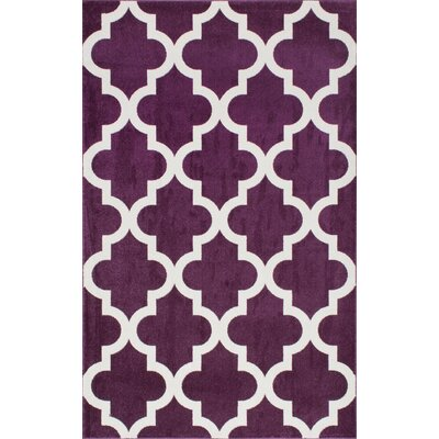 Sherrer Purple Area Rug