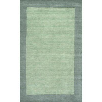 Tadlock Hand-Woven Green Area Rug Rug Size: 3 x 5