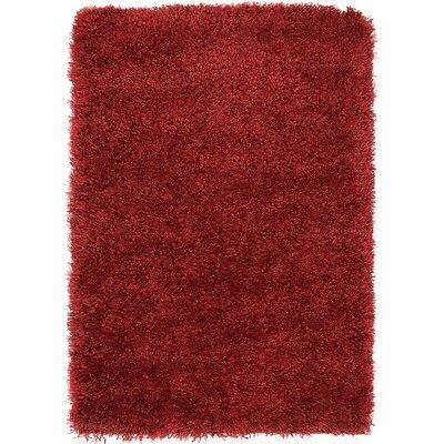 Shriver Red Area Rug Rug Size: 22 x 3