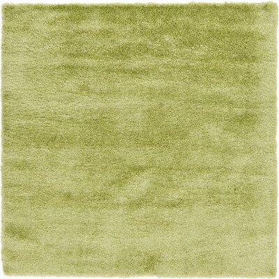 Shriver Cedar Green Area Rug Rug Size: Square 8