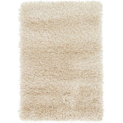 Shriver Cream Area Rug Rug Size: Square 8