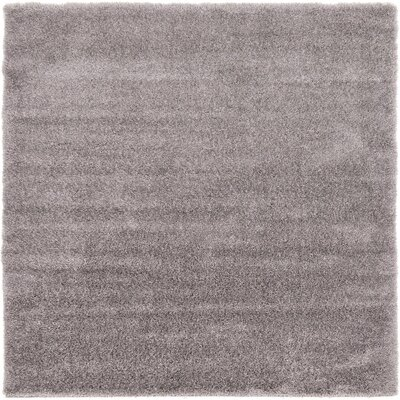 Shriver Gray Area Rug Rug Size: Square 8