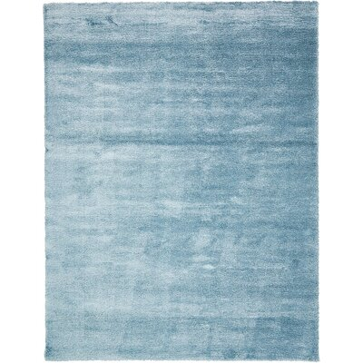 Shriver Light Blue Area Rug Rug Size: 12'2 x 16'