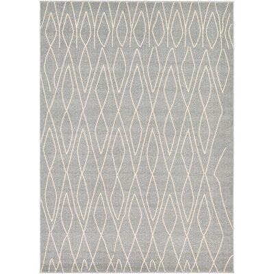 Doretha Gray Area Rug Rug Size: Rectangle 5 x 8