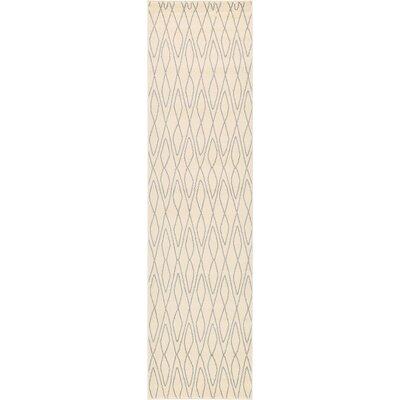 Doretha Ivory Area Rug Rug Size: Runner 27 x 10