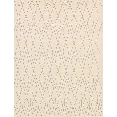 Doretha Ivory Area Rug Rug Size: Rectangle 33 x 53