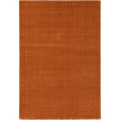 Tawney Rust Red Area Rug