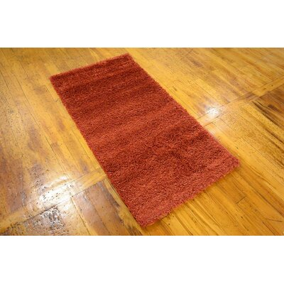 Tatro Red Area Rug Rug Size: Runner 27 x 910