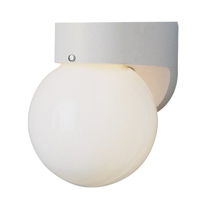 Warnick 1-Light Flush Mount Finish: White