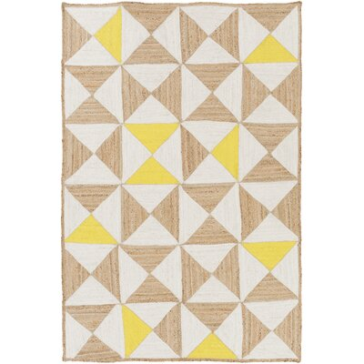 Sherrick Ivory Area Rug Rug Size: Rectangle 8 x 10