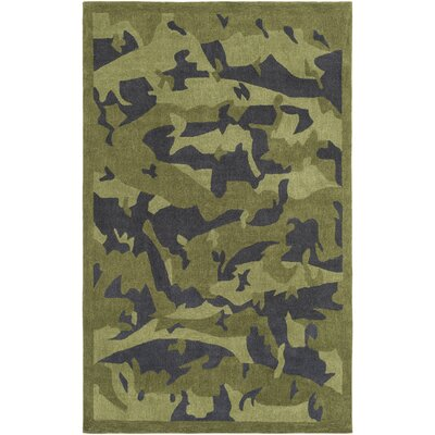 Seymore Hand-Tufted Area Rug Rug Size: 5 x 76