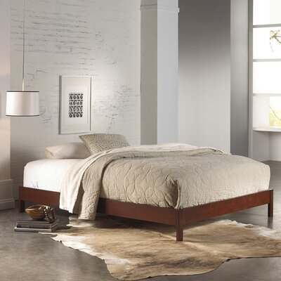 Whitmore Platform Bed Size: Full, Finish: Mahogany