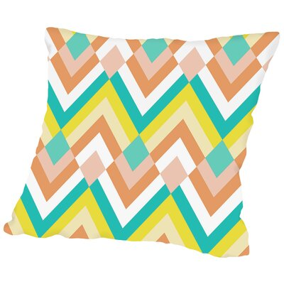 Shandel Aztec Throw Pillow Size: 14 H x 14 W x 2 D