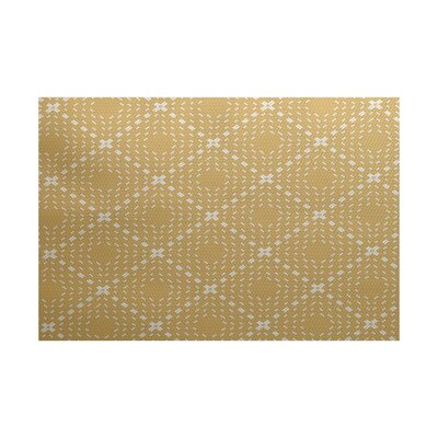 Shirley Beige Indoor/Outdoor Area Rug Rug Size: 5 x 7