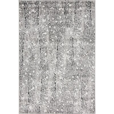 Maryrose Dark Gray Tibetan Area Rug Rug Size: Runner 2 x 13