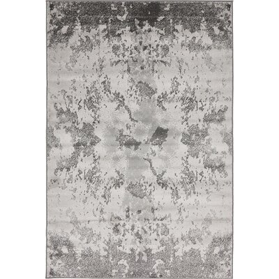 Sidney Light Gray Area Rug Rug Size: Runner 2 x 67