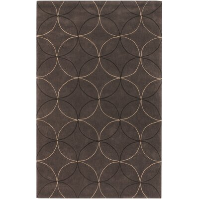 Conroy Brown Rug Rug Size: Rectangle 2 x 3