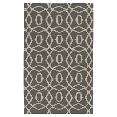 Donley Dove Gray Area Rug Rug Size: Rectangle 5 x 8