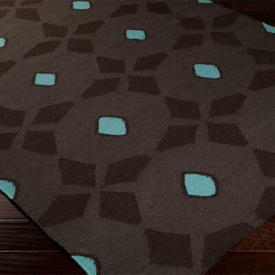 Donley Espresso Area Rug Rug Size: Rectangle 5 x 8