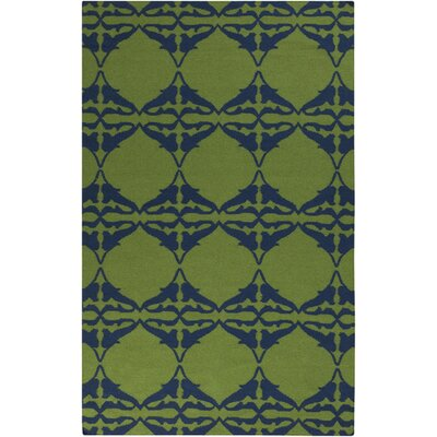 Donley Peridot Geometric Area Rug Rug Size: Rectangle 36 x 56