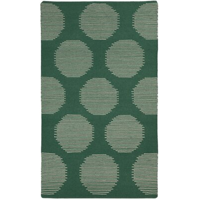 Donley Juniper Green Geometric Area Rug Rug Size: Rectangle 8 x 11