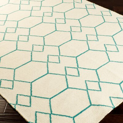 Donley Parchment Geometric Area Rug Rug Size: Rectangle 36 x 56