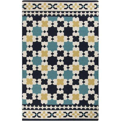 Donley Geometric Area Rug Rug Size: Rectangle 5 x 8