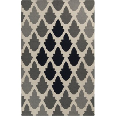 Donley Gray Area Rug Rug Size: 3'6