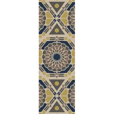 Donley Geometric Area Rug Rug Size: Rectangle 36 x 56
