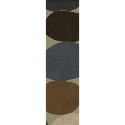 Conroy Putty/Coffee Bean Rug Rug Size: 5 x 8
