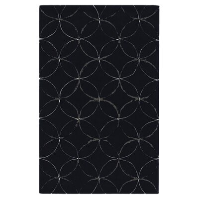 Conroy Navy/Flint Gray Rug Rug Size: Rectangle 36 x 56