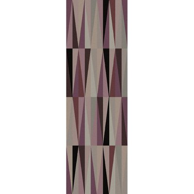 Luray Purple Geometric Area Rug Rug Size: 5 x 8