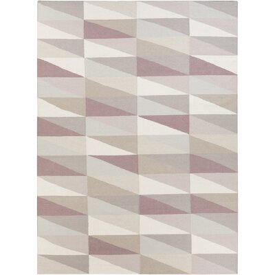 Donley Mauve Area Rug Rug Size: 2 x 3