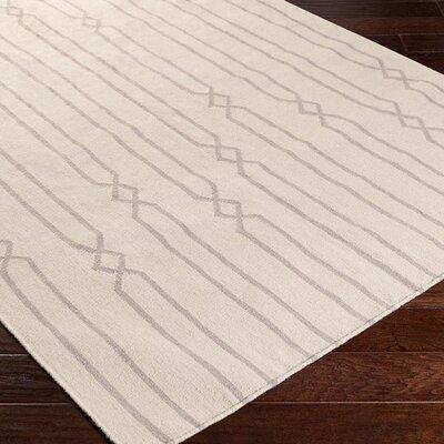 Donley Beige Geometric Area Rug Rug Size: 5' x 8'